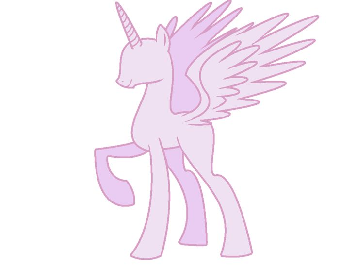 My Little Pony Alicorn Base