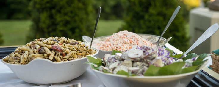 Salad buffet #catering #buffet #wedding #salads