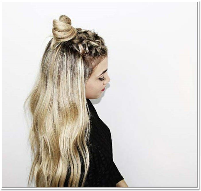 135 Whimsical Half Up Half Down Hairstyles You Can Wear For All Occasions Hair Styles Long Hair Styles Short Hair Styles