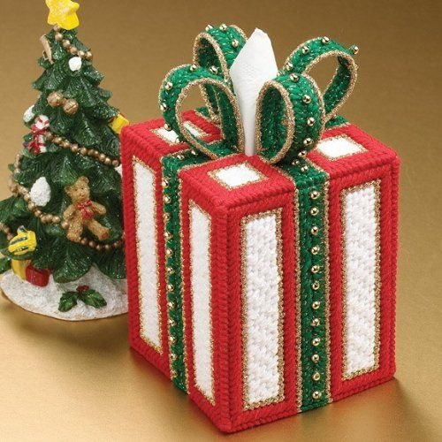 Plastic Canvas Tissue Box Patterns | tissue box cover plastic canvas kit buy now looking for a cute tissue ...