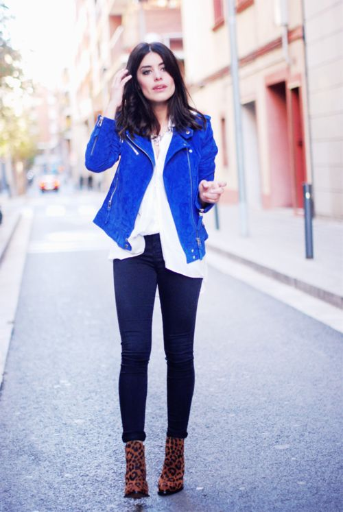 Electric Blue Jacket ra92Cr