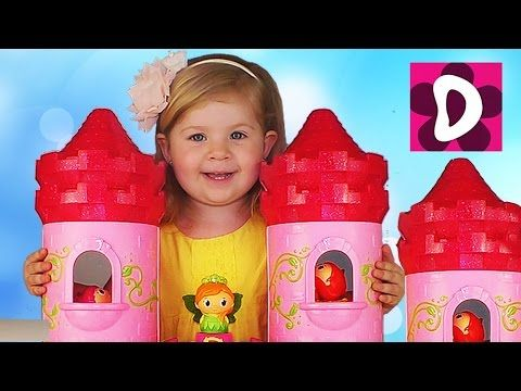 ✿ Супер ЗАМОК Маленькая ПРИНЦЕССА И ПОНИ Princess Pony MEGA BLOKS unboxing New Toys    {{AutoHashTags}}