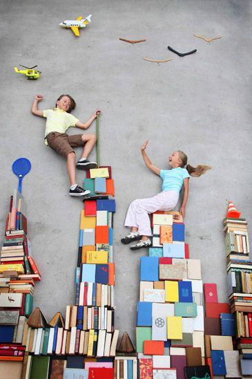 Wow! Damit ist ein toller Nachmittag mit #Kindern garantiert! Der Kinderzimmer-Boden wird zur Fantasiewelt.
