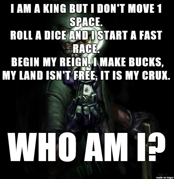 Weekly Riddle: Riddle me this!