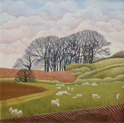 Annie OVENDEN - Sheep and Clouds