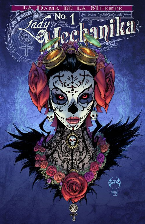 Lady Mechanika: La Dama de la Muerte # 1 - Variant Cover by Joe Benitez and Sabine Rich