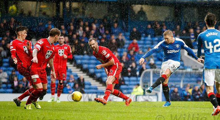 Martyn Waghorn scores goal no 3 for Rangers