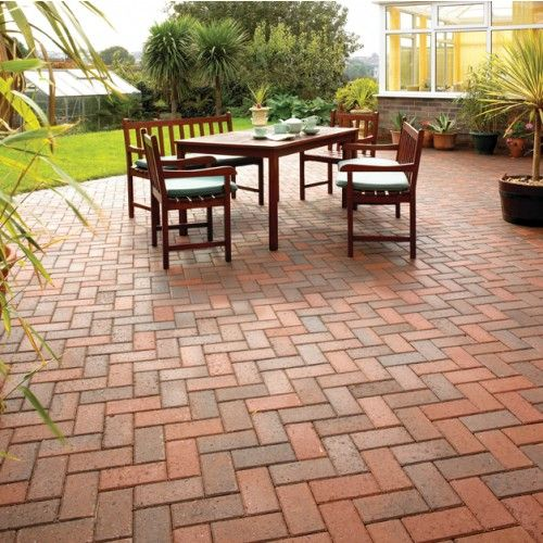 Bradstone, Driveway Block Paving Brindle 200 x 100 x 50 - Fully Loaded - Standard - Block Paving