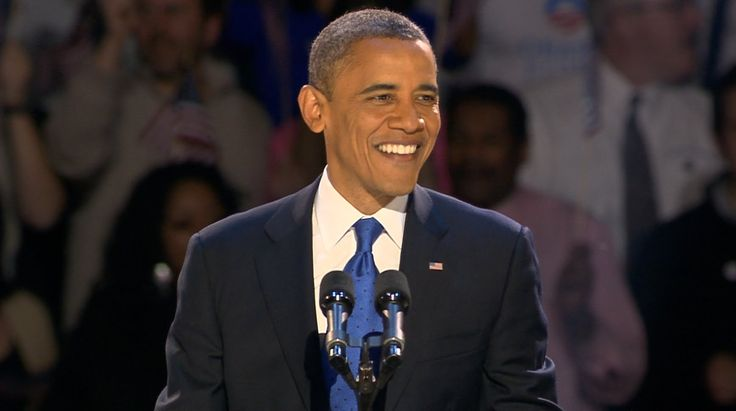 President Obama's Election Night Victory Speech - November 6, 2012 in Ch...