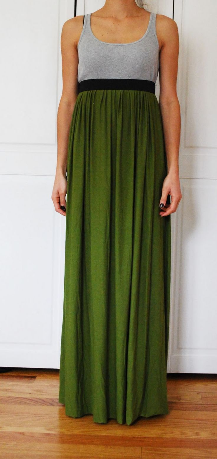 Here is a maxi skirt I made and wore for Thanksgiving. It is so easy and inexpensive to make!  Material: Fabric: You will need to pick out ...