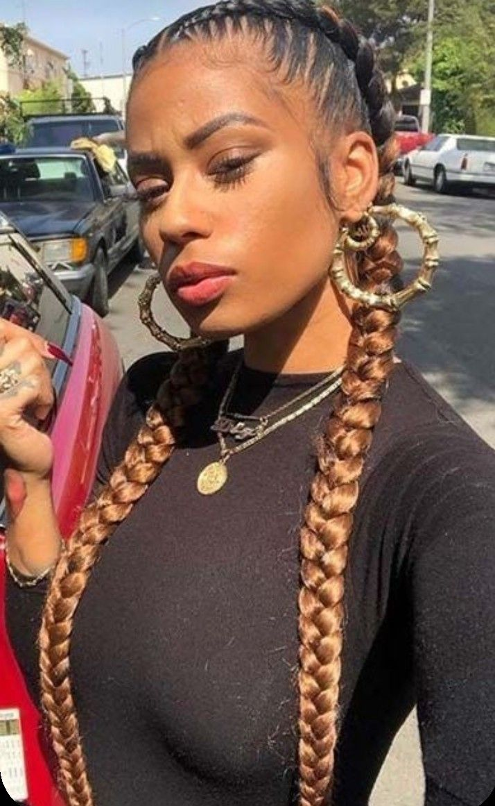 Boxeadora in 2021 | Hair clips, Perfect hair, Box braids hairstyles