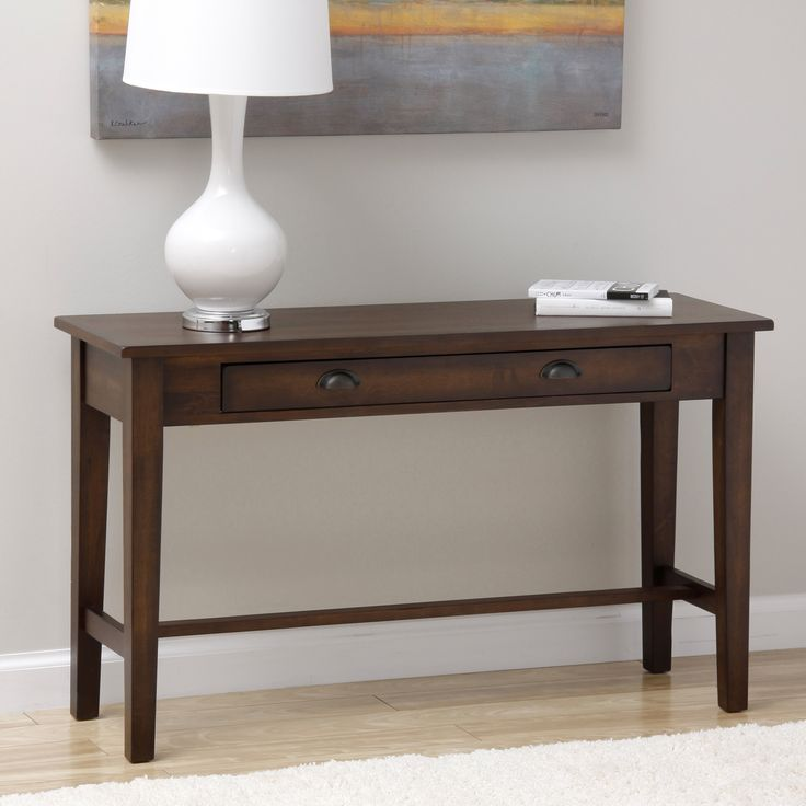 Fb 5680 5 Wood Console Table ~ Best homework rm images on pinterest home office