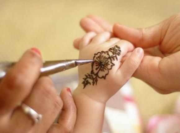 mehndi feet designs | Henna Tattoo Designs For Kids For Hand Feet Arabic Beginners Kids Men