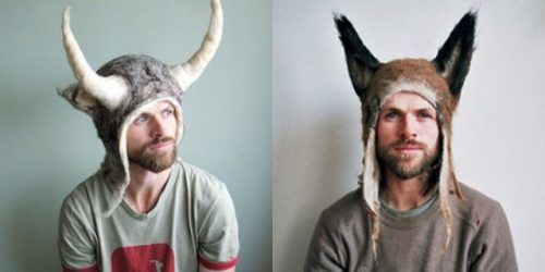 I would wear theseFunny Design, Animal Hats, Clothing Design, Jajaja Loco, Wear 30, Inventions Clothing, Wild Man, Awesome Things, 30 Photos
