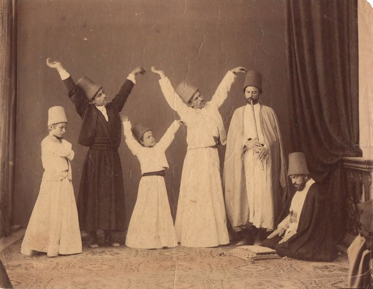 #Whirling #dervishes by #Pascal #Sebah #Sufism #Islam #Rumi #Mevlavi