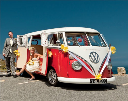 The Ultimate Wedding Limo A Vw Photobooth Bus For Your At