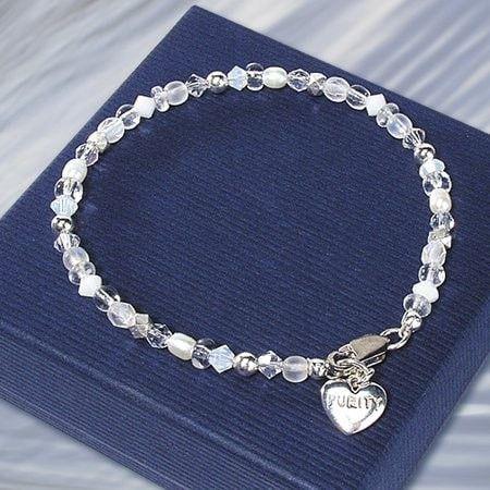 Purity W/Austrian Crystal (Sterling Silver)
