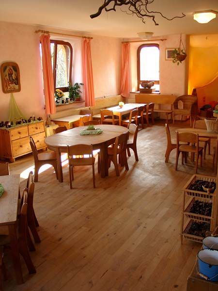 Beautiful classroomFor Kids, Waldorf Education, Waldorf Spaces, Montessori Classroom Design,  Eatery, Beautiful Classroom, Dreams Classroom, Waldorf Classroom, Reggio Inspiration