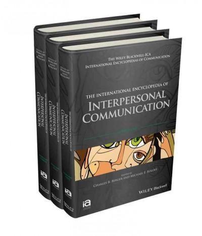 The International Encyclopedia of Interpersonal Communication