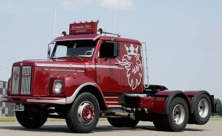 Scania, LS 111 Super XL (S, 1974-1980) 11 liter, 6 cyl. turbo