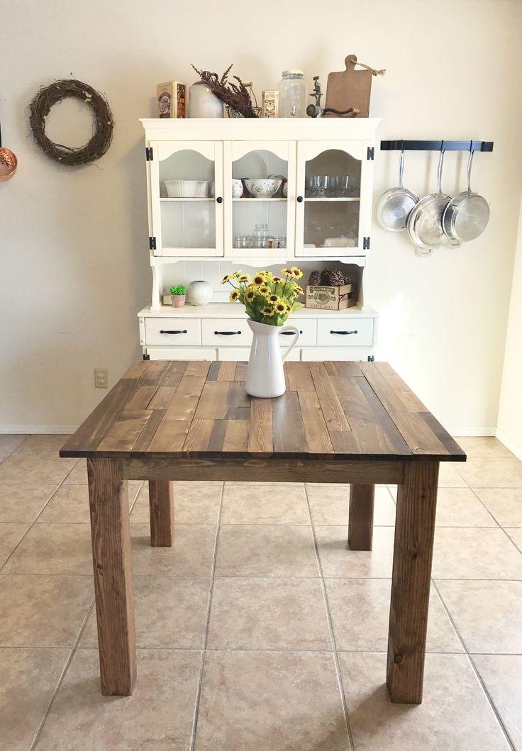 diy scrap wood tabletop table