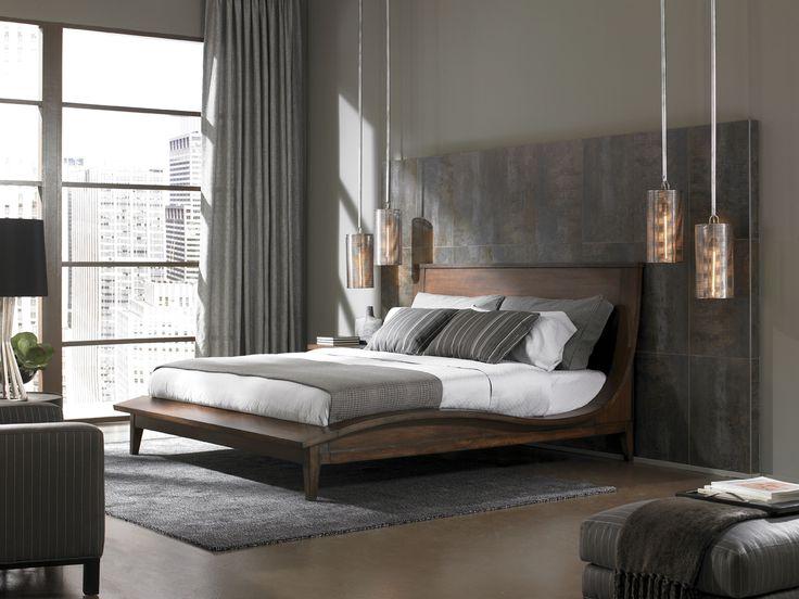Lexington modern bedroom set at Furnitureland South