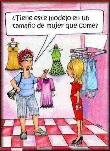 el drama de ir de compras :)