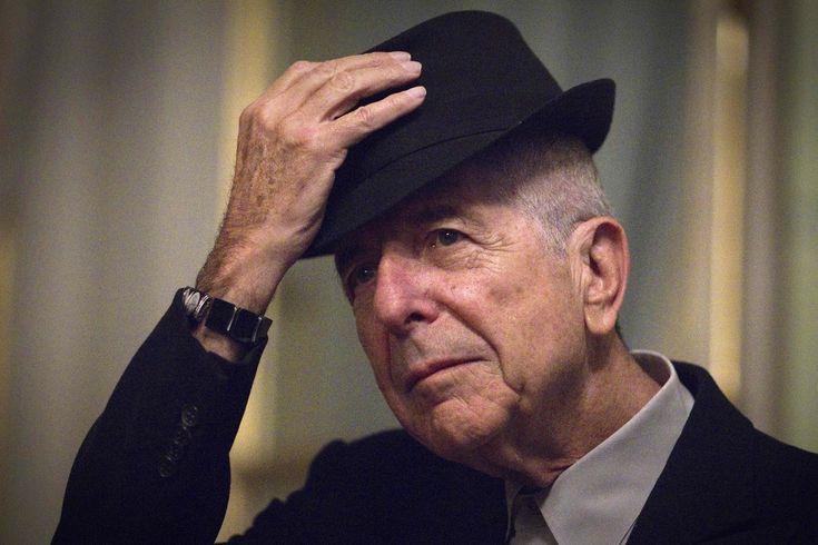 """Ha muerto Leonard Cohen, """"Hay una grieta en todo, así es como entra la luz"""".Matemolivares"""