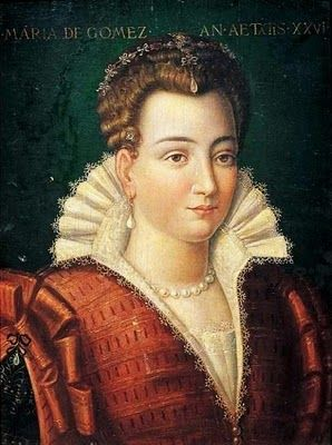 Painting Associated with the Artist or the Worshop of Alessandro Allori (Italian Mannerist Painter, 1535-1607) Maria de Gomez