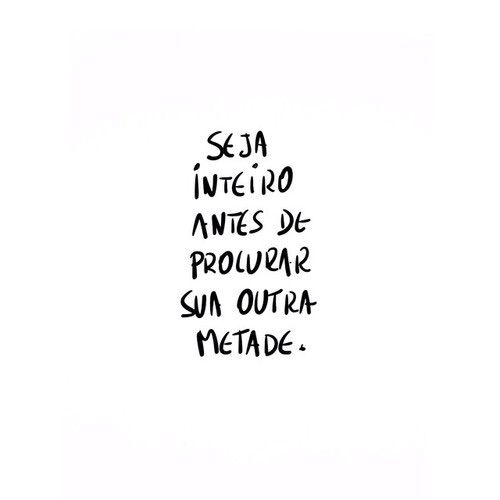 Image via We Heart It #inspiration #phrases #portuguese #quote #frases