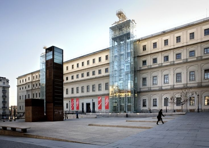 Madrid: El Museo Reina Sofía en el antiguo Hospital General