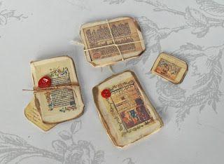 All about dollhouses and miniatures: Oude documenten gevonden op de zolder van het poppenhuis