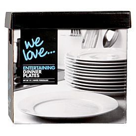Large plates $30 per box of 12 so $90 for a class set incl extras