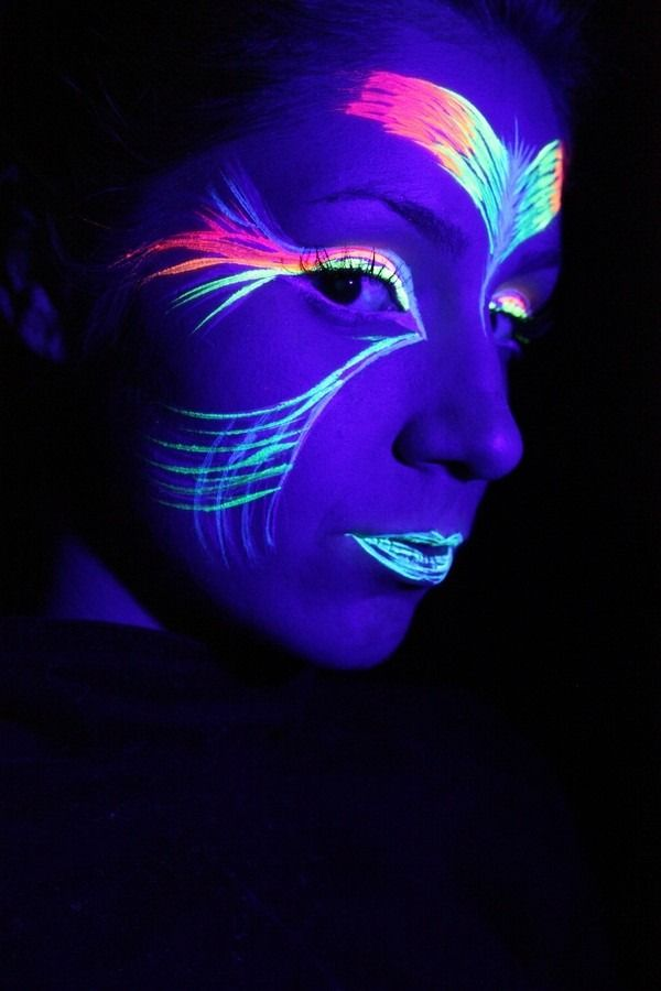 Super 22 best tinta neon images on Pinterest | Faces, Glow party and  AO88