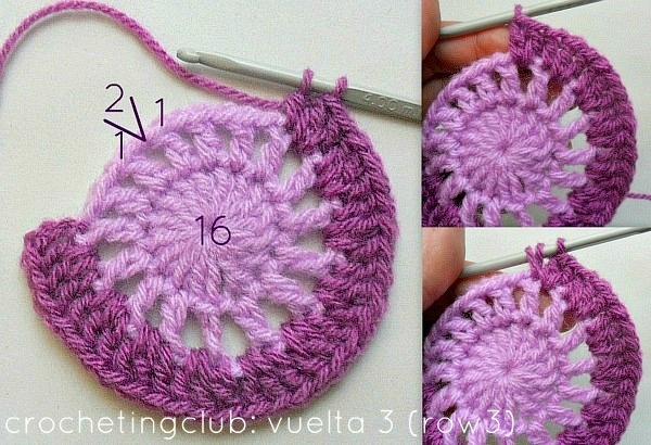 crochetingclub: Jan Eaton: willow granny square tutorial ...
