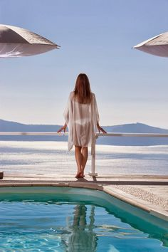 With a unique view to the #volcano of Santorini – the symbol of power of a sea that historically united cultures� #Santorini, #MillHouses