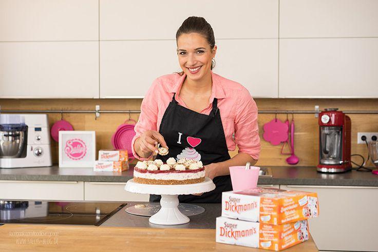 Super Dickmanns Torte / No Bake / Stracciatella-Torte mit Himbeer-Fruchtspiegel