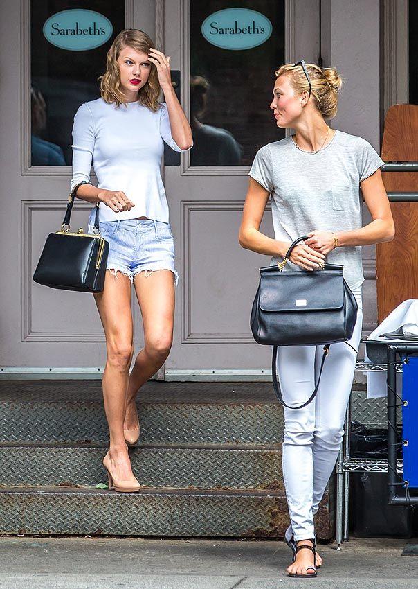 Karlie Kloss y Taylor Swift, dos amigas muy coordinadas