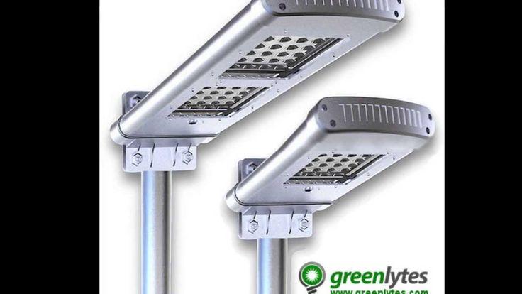 All in one LED Solar Street Lights | Solar Parking Lot Lights | Greenlytes