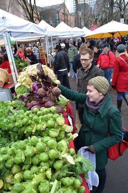 Portland, Oregon, Farmer's Market