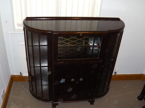 Turnidge Cocktail Cabinet Lovely Antique Retro Vintage