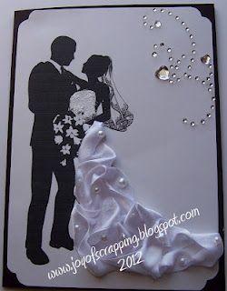 Bridal dress made out of ribbon