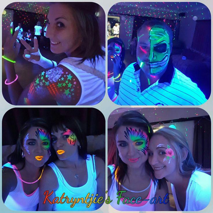 #neonparty #neonfacepaint #katryntjiesfaceart