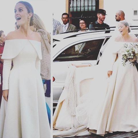 #ladycharlotte front #weddingdress details.