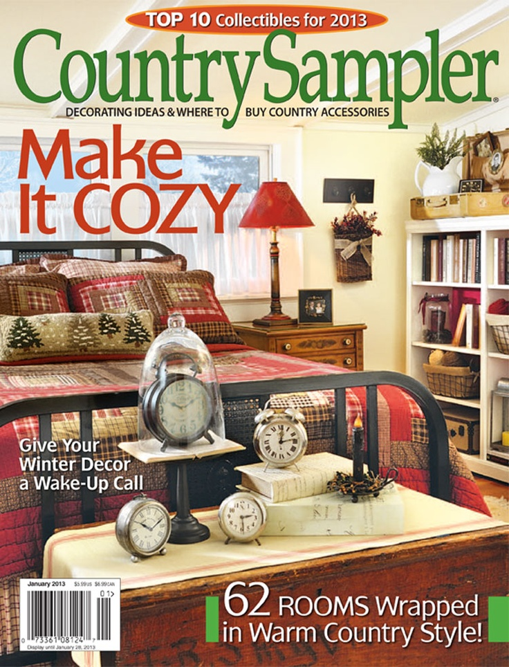 Emejing Country Home Decorating Magazine Pictures
