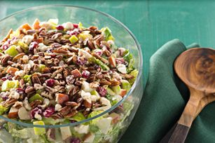 Festive Apple-Cranberry Salad Recipe - Kraft Recipes