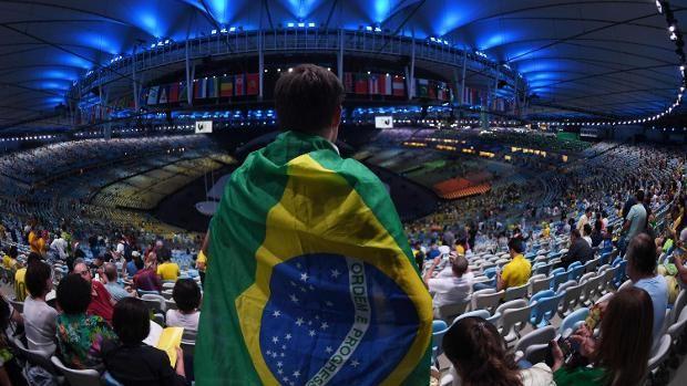 Rund 50.000 Zuschauer verfolgten die Show in Rio im Stadion, weltweit waren es mehr als eine Milliarde an den TV-Geräten.
