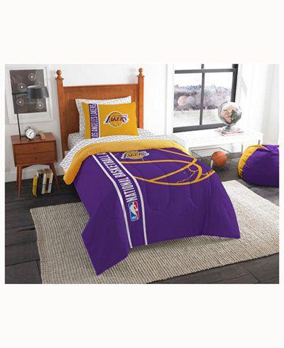 149.99$  Buy now - http://vinnp.justgood.pw/vig/item.php?t=bisa6n71211 - Los Angeles Lakers 5-Piece Twin Bed Set