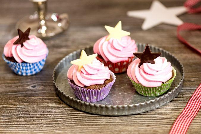Suklaatähti Cupcakes  http://www.oetker.fi/fi/Reseptit/Leivokset+ja+muffinit/Suklaat%c3%a4hti+Cupcakes/
