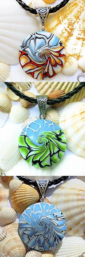 """Do you like these pendants? Do you want to learn how to do similar? I made a detailed tutorial on how to make such beads """"Swirls"""" Today is the biggest discount 43% for tutorials! More: https://www.etsy.com/listing/505618221/4-tutorials-at-a-discount-43-earrings #polymerclaytutorial #jewelrytutorial #tutirial"""